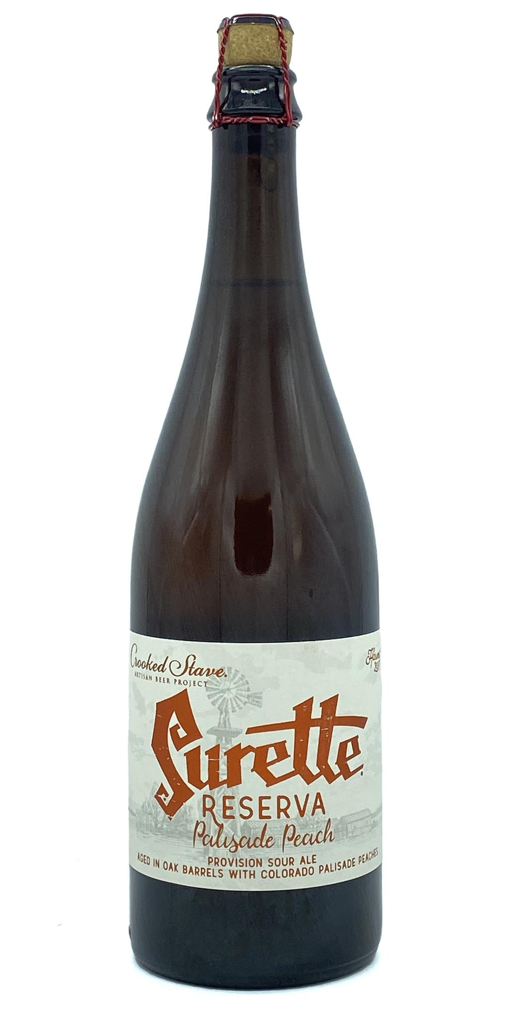 Crooked Stave - Surette Reserva Palisade Peach 2018