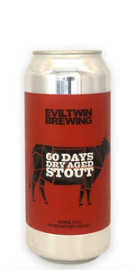 Evil Twin Brewing - 60 Days Dry Aged Stout - 473ml - Drikbeer - Order Craft Beer Online