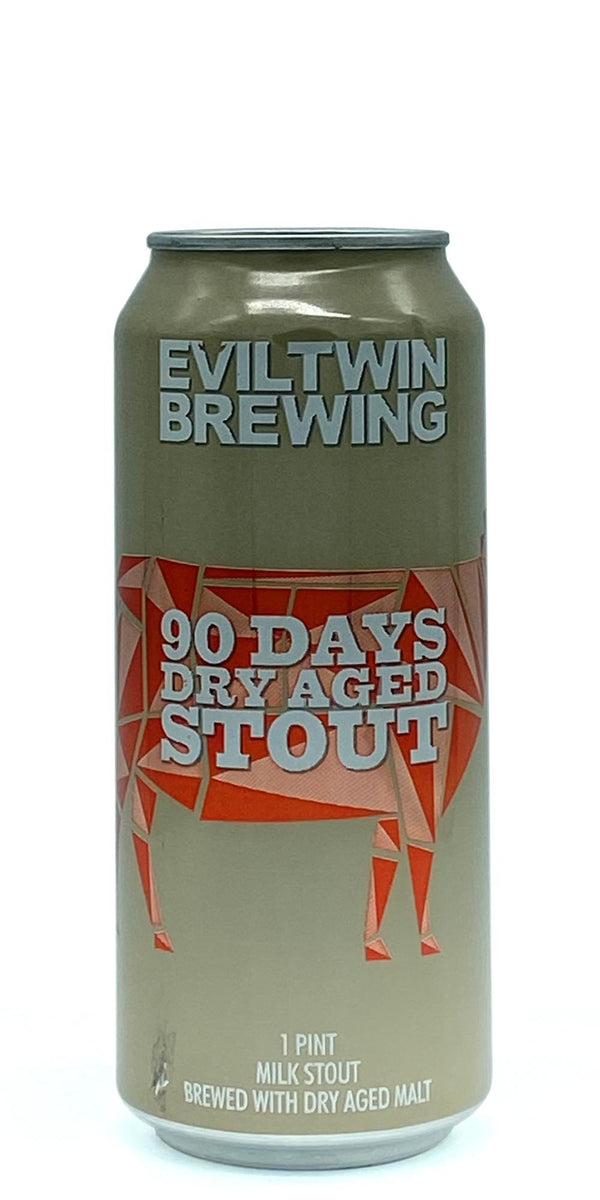 Evil Twin Brewing - 90 Days Dry Aged Stout - 473ml - Drikbeer - Order Craft Beer Online