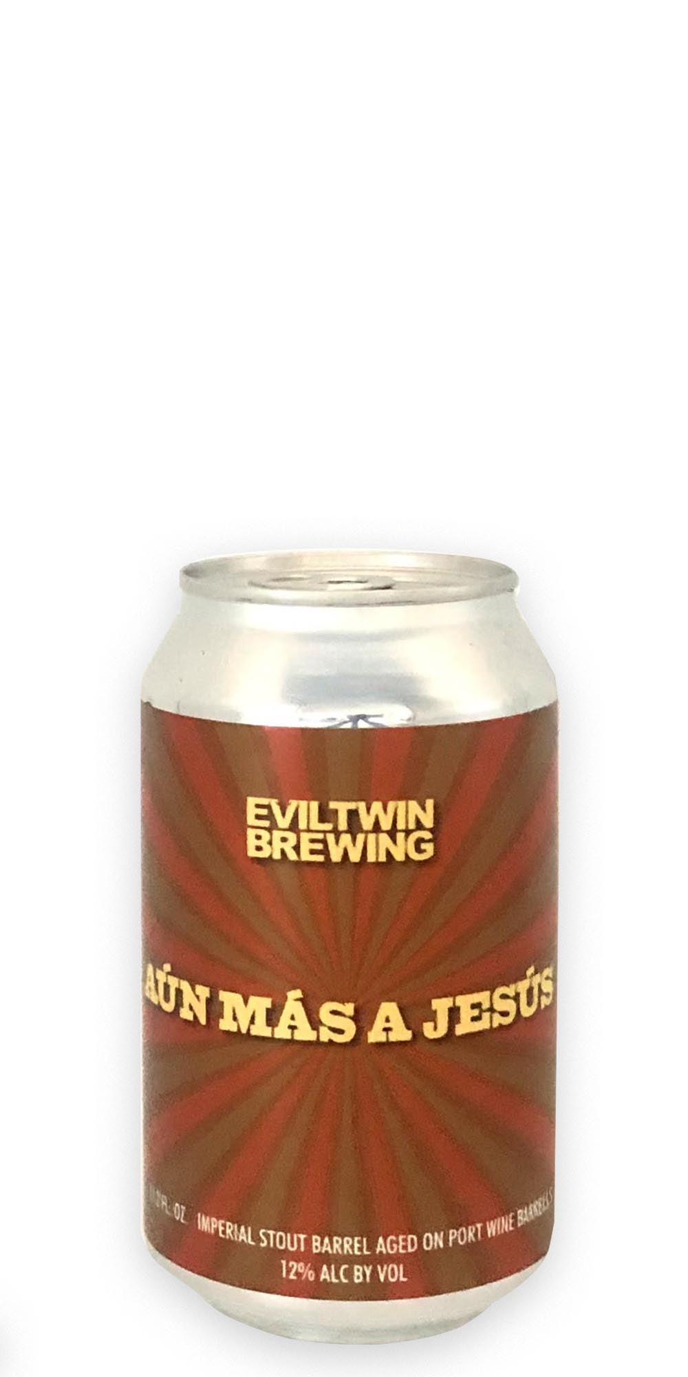 Evil Twin Brewing - Aun Mas Jesus Port - 330ml - Drikbeer - Order Craft Beer Online