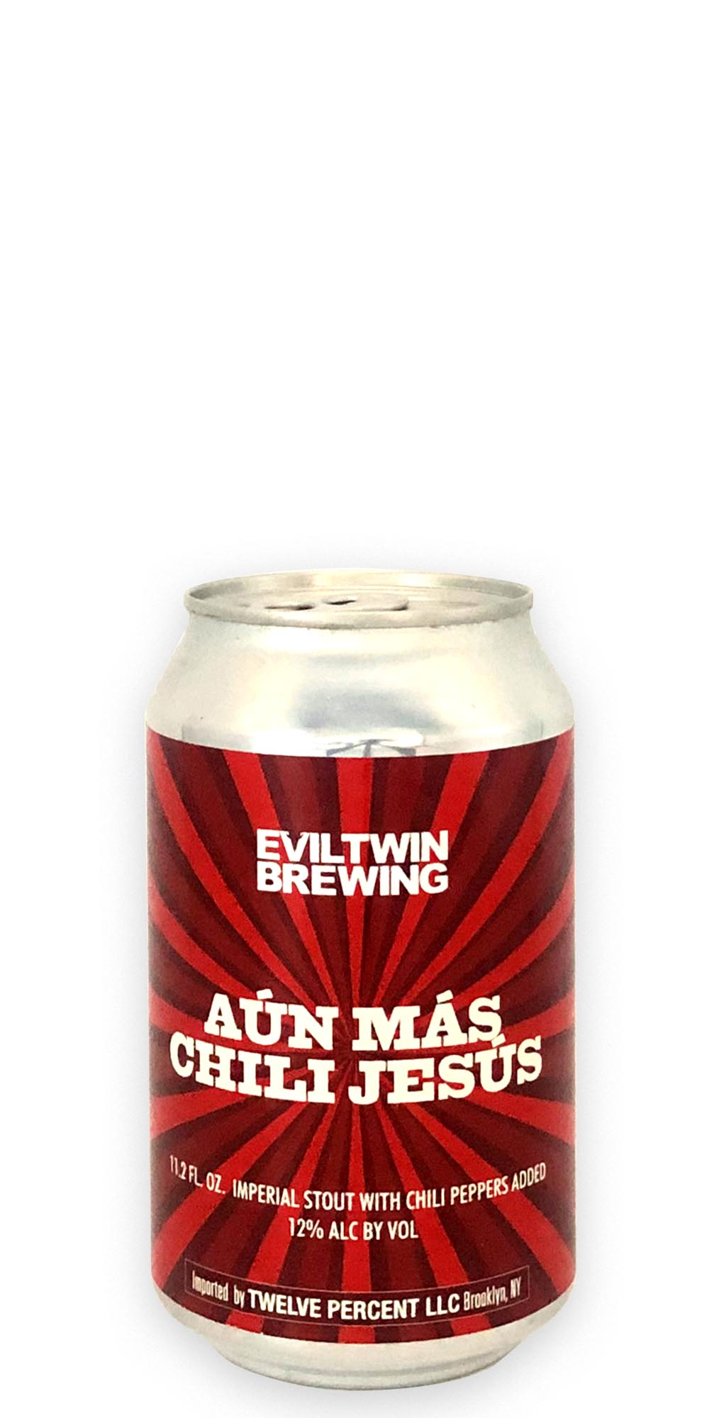 Evil Twin Brewing - Aun Mas Chili Jesus - 330ml - Drikbeer - Order Craft Beer Online