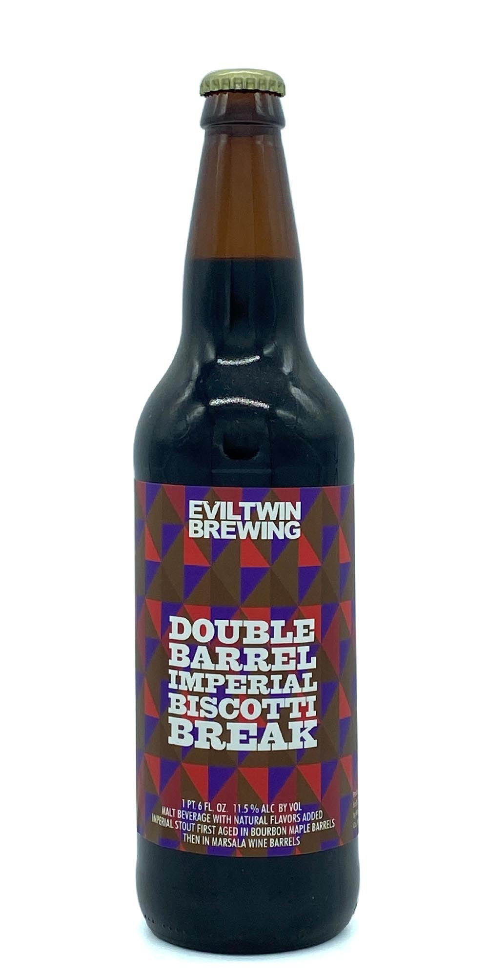 Evil Twin - Double Barrel Imperial Biscotti Break 2017 - Drikbeer - Order Craft Beer Online