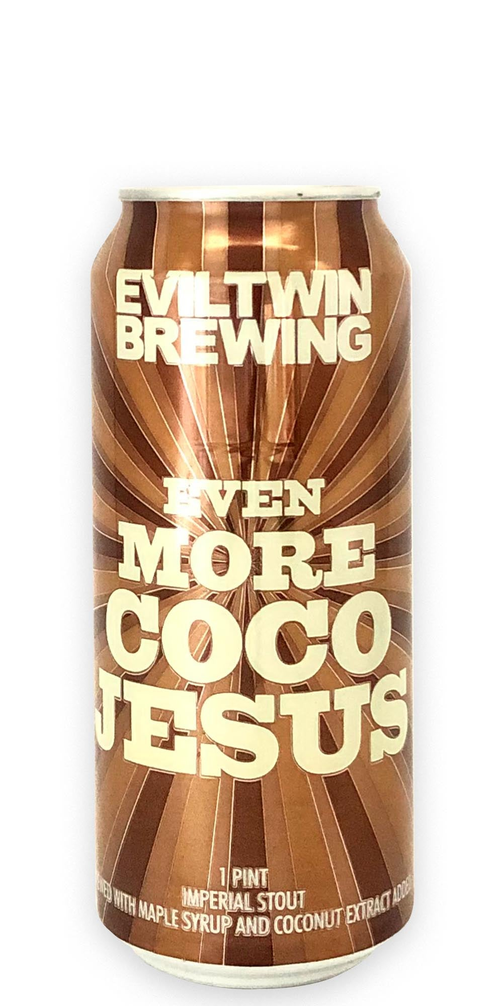Evil Twin Brewing - Even More Coco Jesus - 473ml - Drikbeer - Order Craft Beer Online