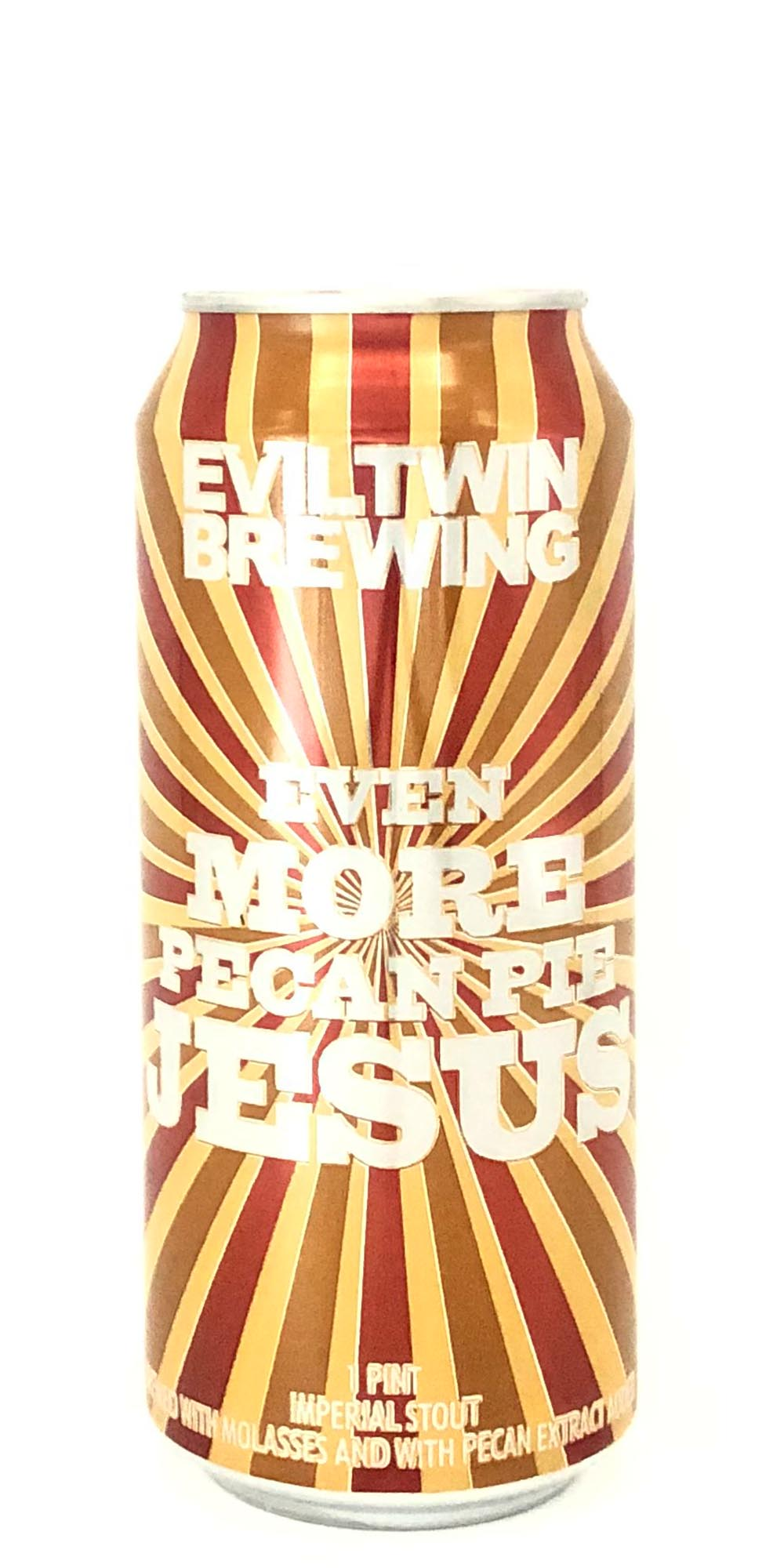 Evil Twin Brewing - Even More Pecan Pie Jesus - 473ml - Drikbeer - Order Craft Beer Online