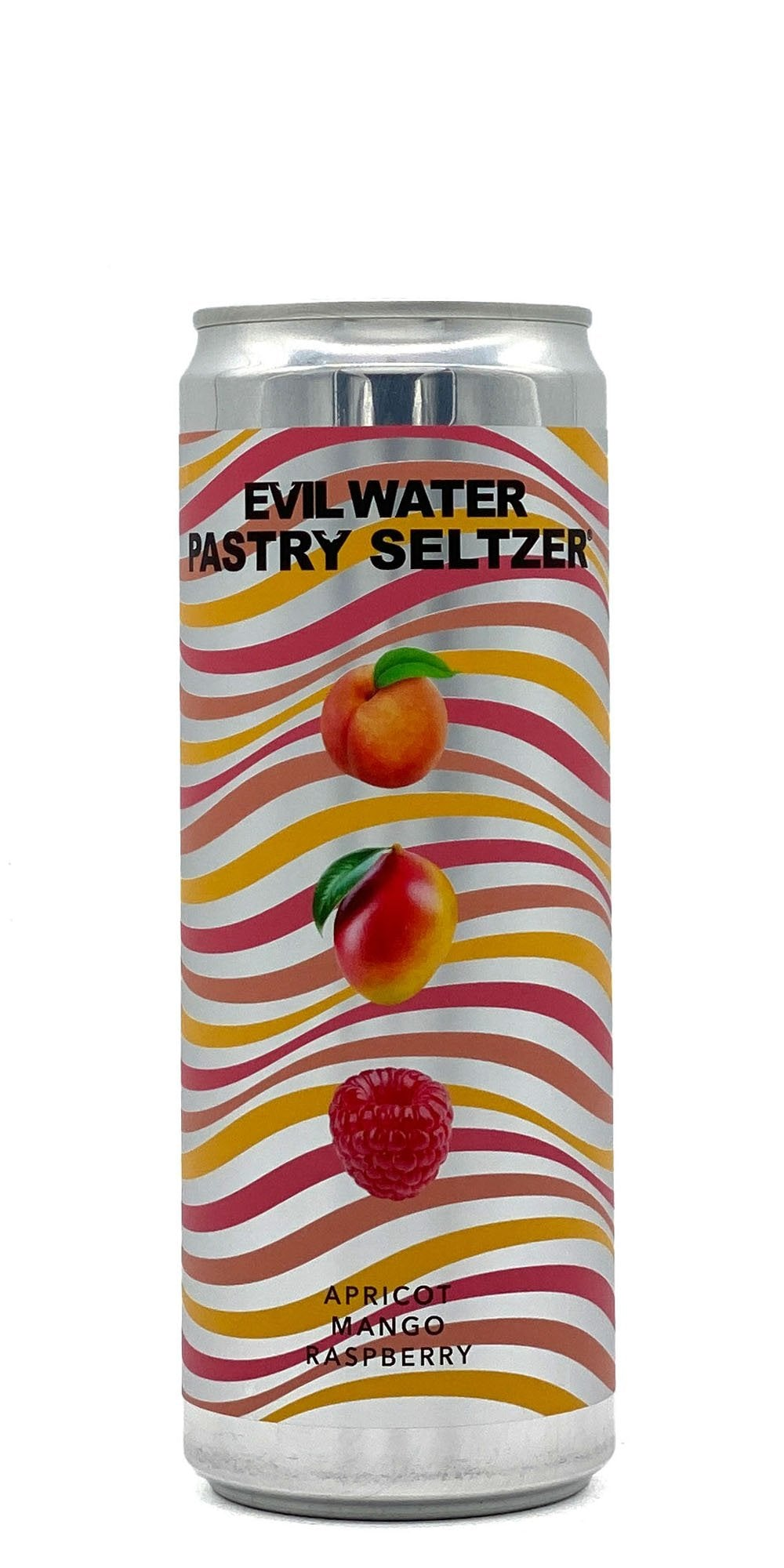 Evil Water - Pastry Seltzer: Apricot, Mango, Raspberry