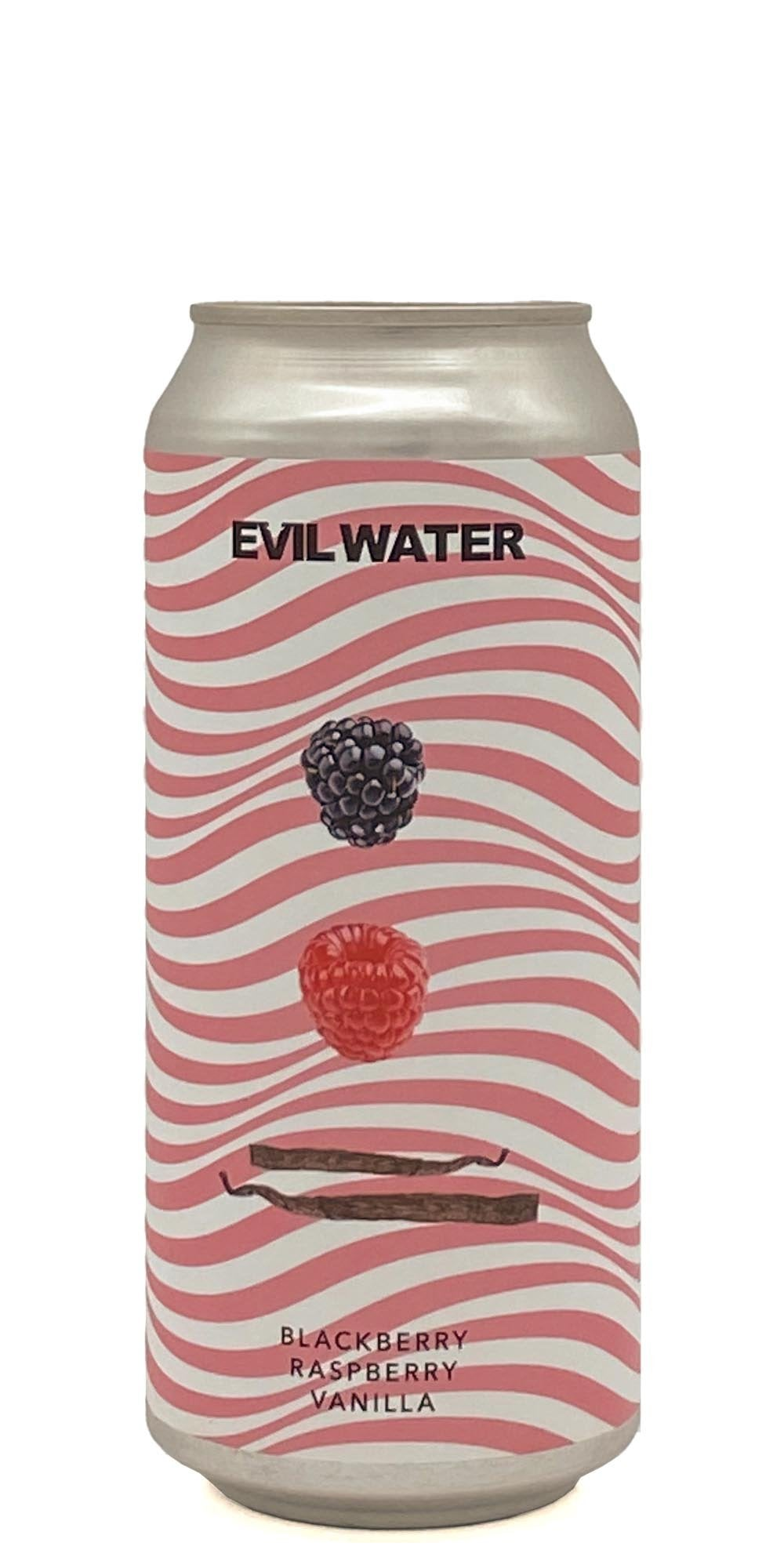 Evil Water Blackberry Raspberry Vanilla - Drikbeer - Order Craft Beer Online