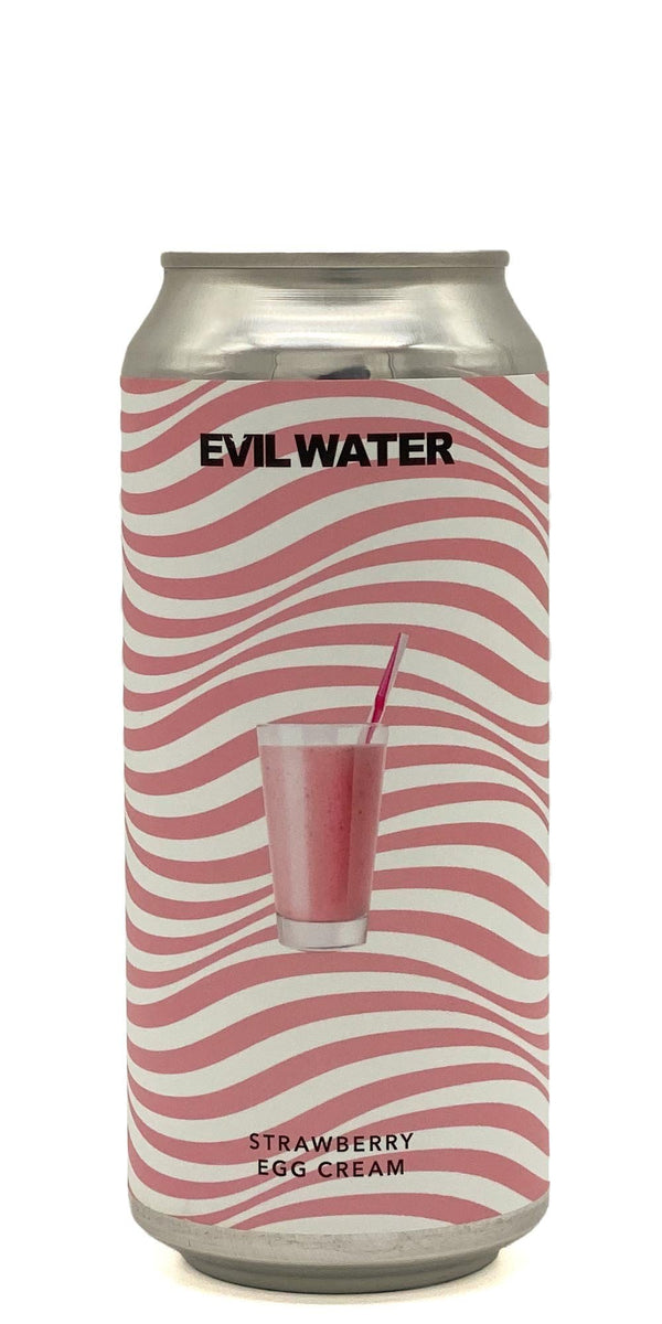 Evil Water Strawberry Egg Cream - Drikbeer - Order Craft Beer Online
