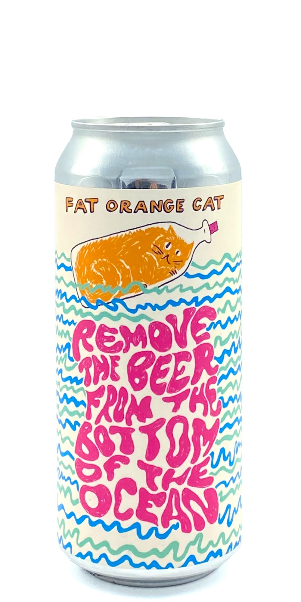 Fat Orange Cat - Remove the Beer from the Bottom of the Ocean - Drikbeer - Order Craft Beer Online