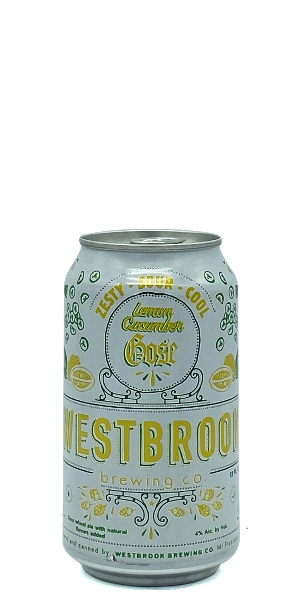 Westbrook Brewing - Lemon Cucumber Gose