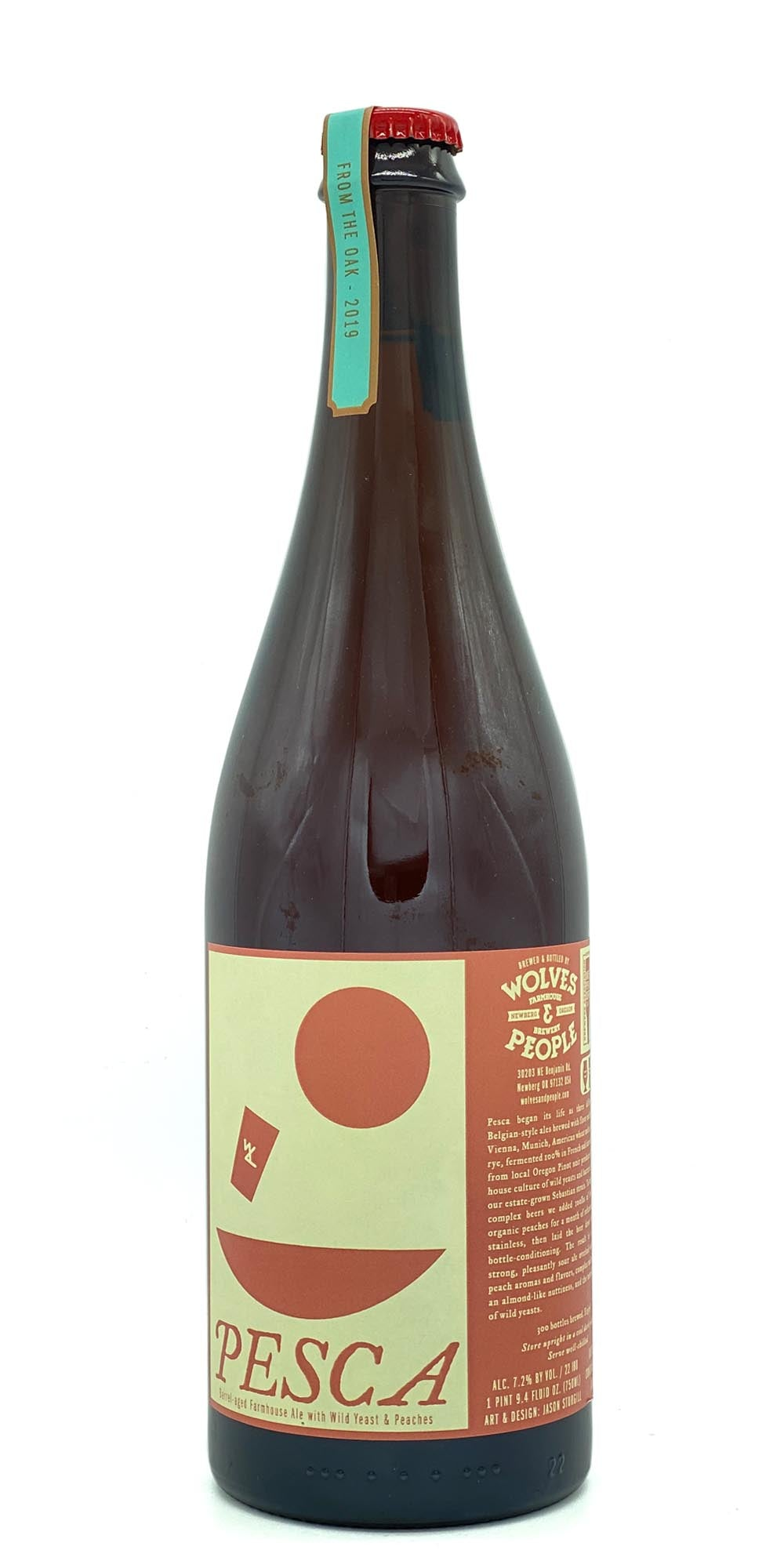 Wolves & People Brewery - Pesca 2019 - Drikbeer - Order Craft Beer Online