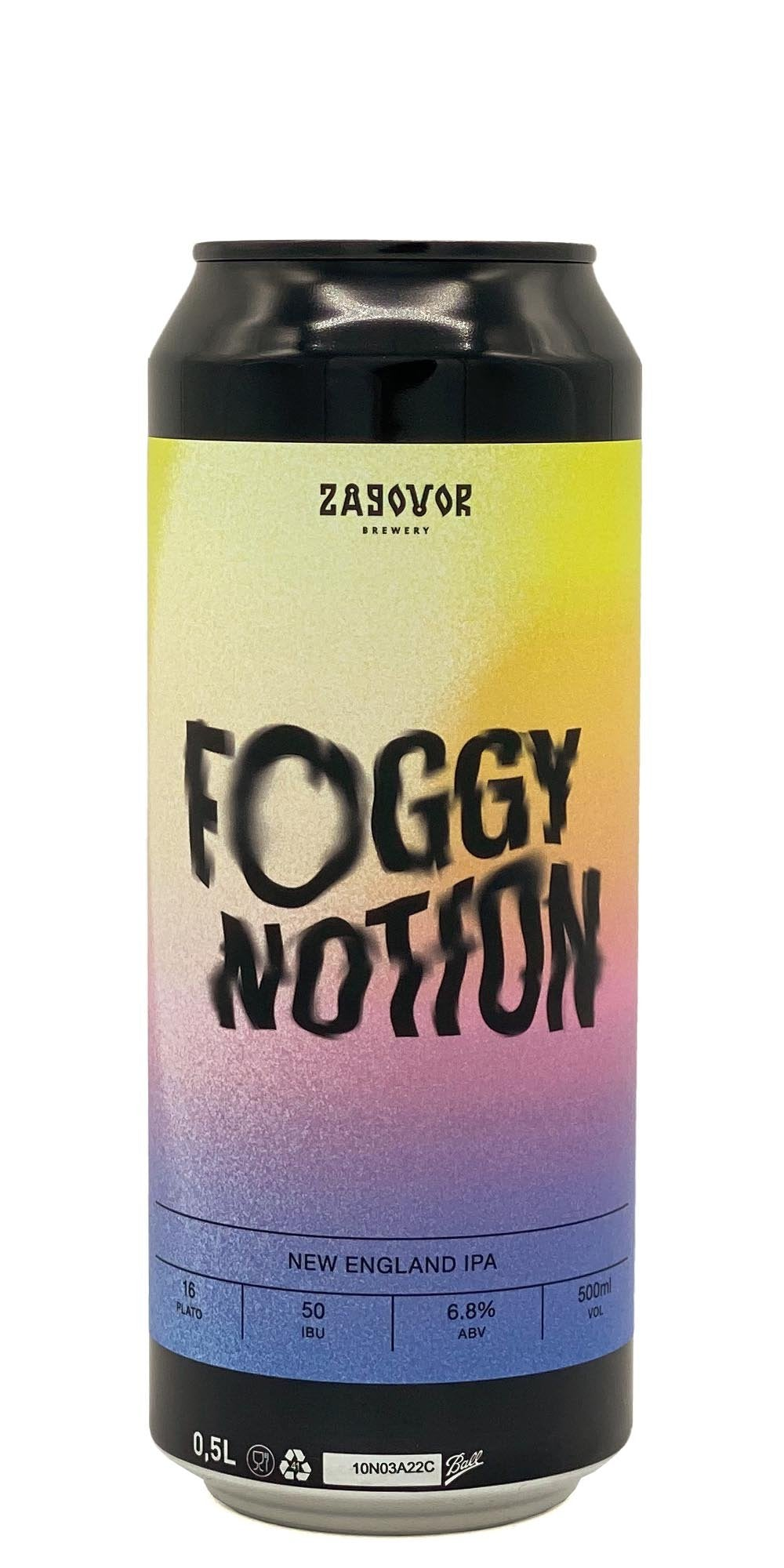 Zagovor Brewery - Foggy Notion - Drikbeer - Order Craft Beer Online