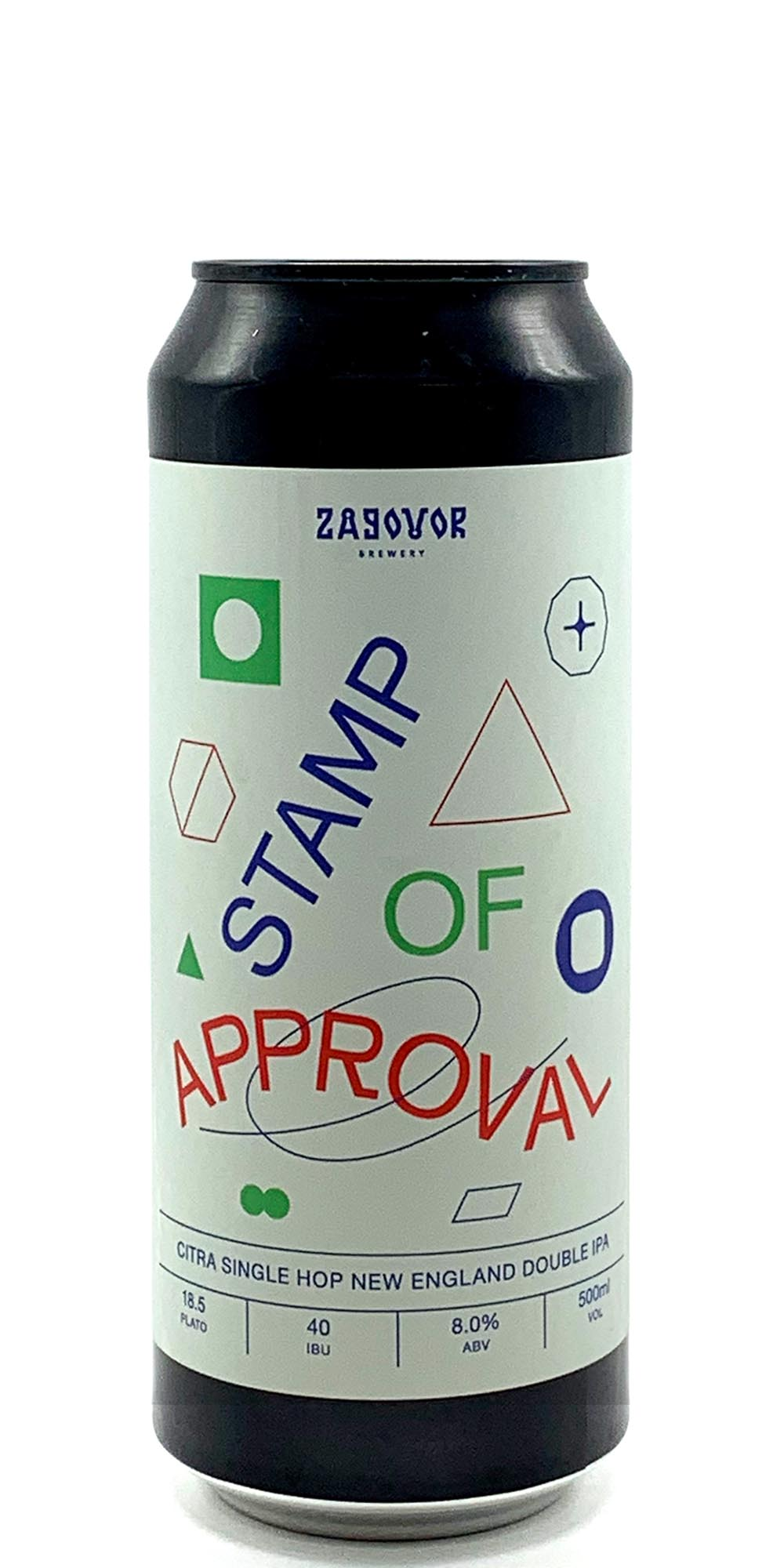 Zagovor Brewery - Stamp of Approval - Drikbeer - Order Craft Beer Online