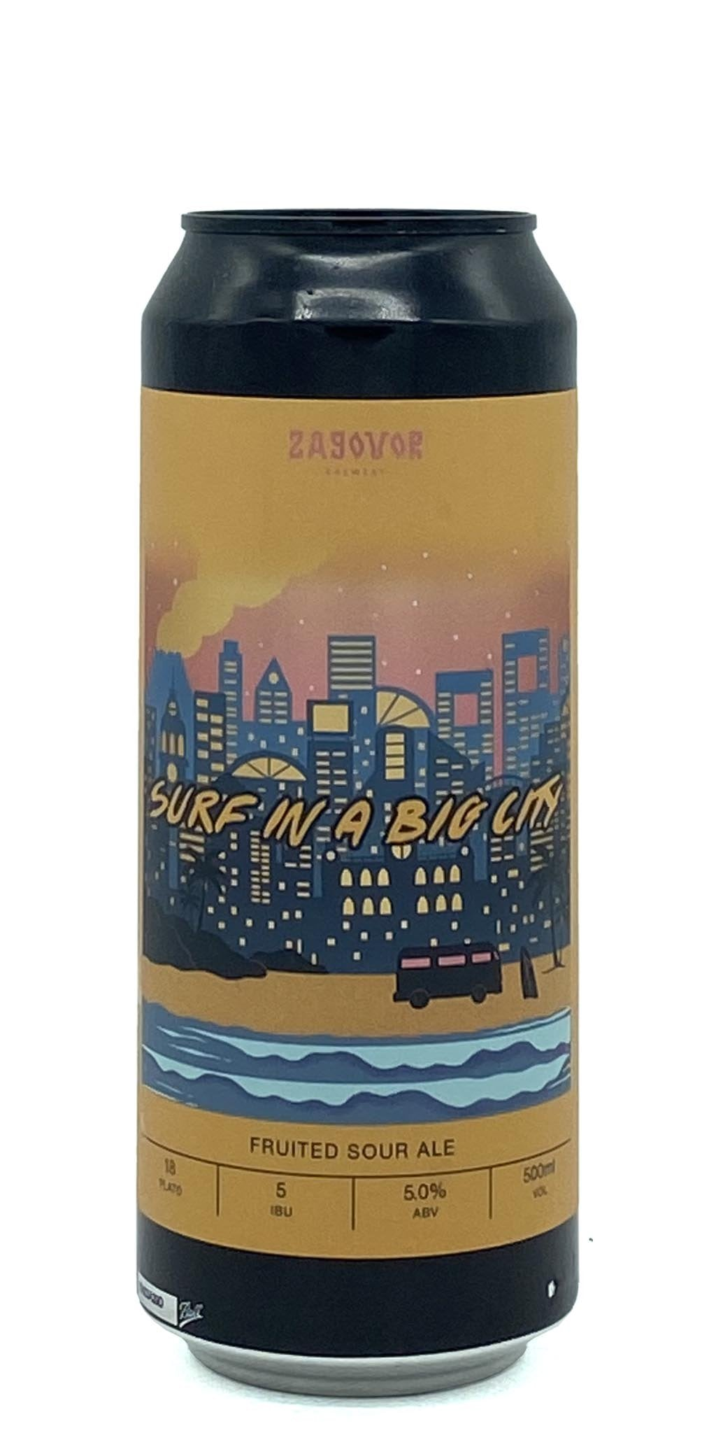 Zagovor Brewery - Surf in a Big City