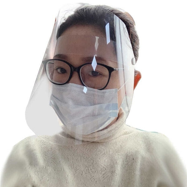 Transparent Mask Protective Mask Transparent Plastic Anti-fog Saliva Protection
