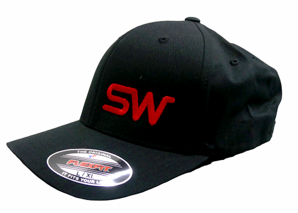 Black w/Red Logo