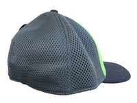 Lime Green/Gray Mesh w/Black Logo