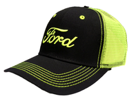 Neon Green Ford Snapback