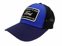 Blue w/Ford Patch Snapback
