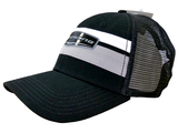 Black/Mesh Chevrolet Racing Velcro