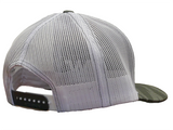 Light Gray Tiger Stripe w/ White Logo