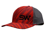 Red Tiger Stripe w/ Black Logo