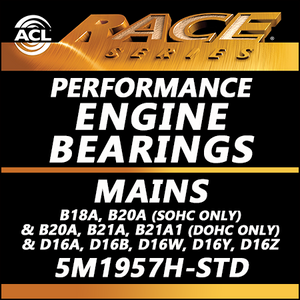 ACL Race Bearings, Mains: 5M1957H-STD