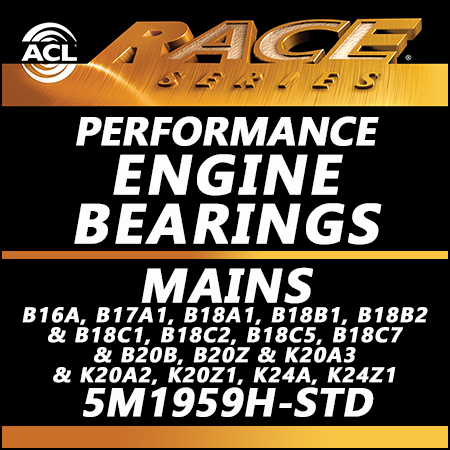 ACL Race Bearings, Mains: 5M1959H-STD