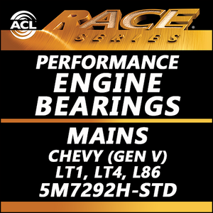 ACL Race Bearings, Mains: 5M7292H-STD