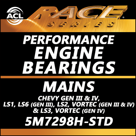 ACL Race Bearings, Mains: 5M7298H-STD