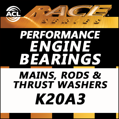 ACL Race Bearings, Mains, Rods & Thrust Washers: 5M1959H-STD; 4B1906H-STD; 1T1957-STD