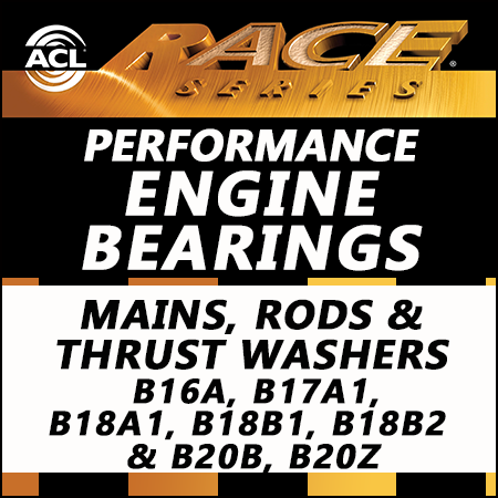 ACL Race Bearings, Mains, Rods & Thrust Washers: 5M1959H-STD; 4B1946H-STD; 1T1957-STD
