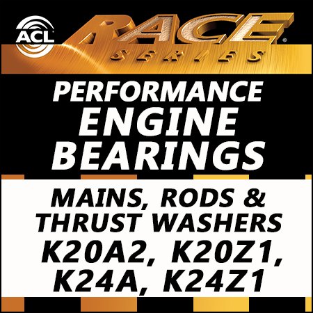 ACL Race Bearings, Mains, Rods & Thrust Washers: 5M1959H-STD; 4B1972H-STD; 1T1957-STD