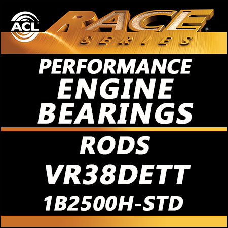 ACL Race Bearings, Rods: 1B2500H-STD