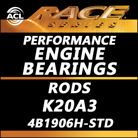 ACL Race Bearings, Rods: 4B1906H-STD