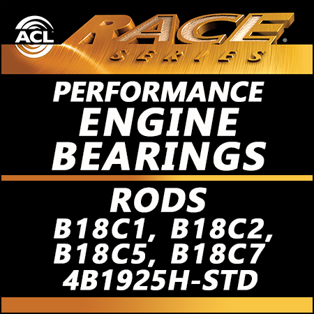 ACL Race Bearings, Rods: 4B1925H-STD