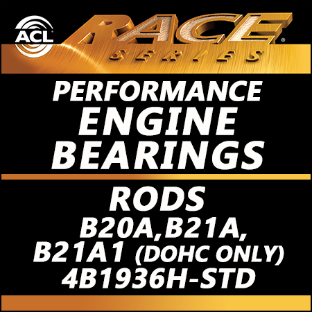 ACL Race Bearings, Rods: 4B1936H-STD