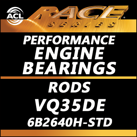 ACL Race Bearings, Rods: 6B2640H-STD