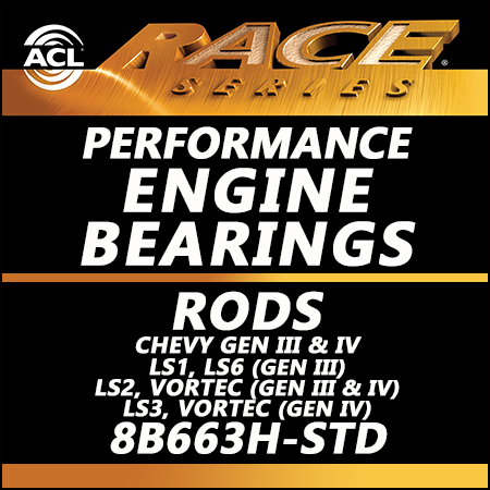 ACL Race Bearings, Rods: 8B663H-STD
