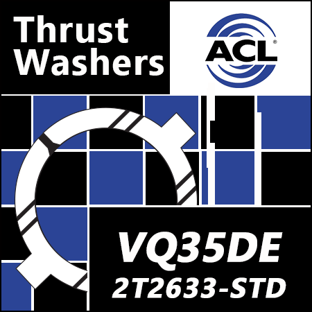 ACL Thrust Washers: 2T2633-STD