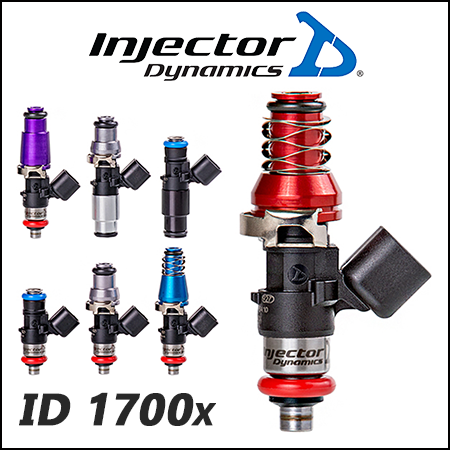 Injector Dynamics Fuel Injectors - The ID1700x for GTR (R35) FOR V1 T1 Rails