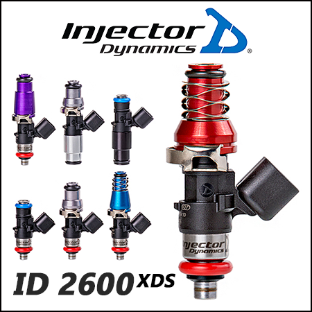 Injector Dynamics Fuel Injectors - The ID2600-XDS for GTR (R35) FOR V1 T1 Rails