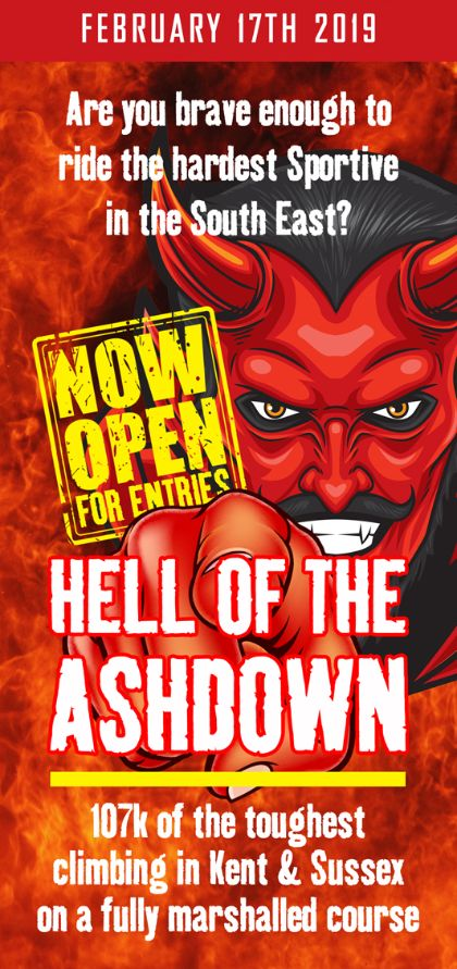 HELL OF THE ASH DOWN 2019 - ENTRIES NOW OPEN