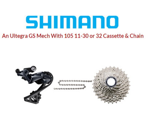 Ultegra / 105 Wide Ratio Kit