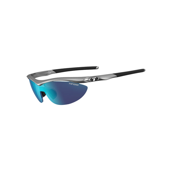 TIFOSI SLIP STEEL INTERCHANGEABLE CLARION BLUE LENS SUNGLASSES