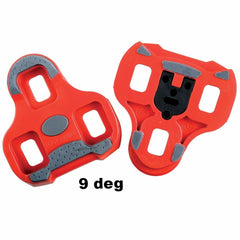 LOOK KEO Cleat with gripper 9 float Red