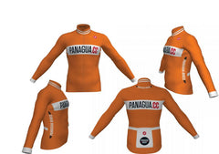Panagua.CC Orange Long Sleeved Jersey