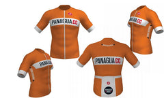 Panagua.CC FZ Orange Jersey