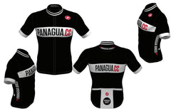 Panagua.CC Black Short Sleeved Jersey