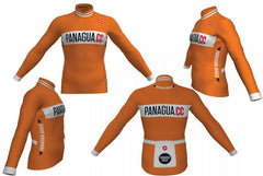 Panagua.CC Orange Winter Jacket