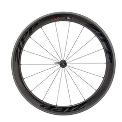 Zipp 404 Firecrest Carbon Clincher Front Wheel 18 spokes Black Decal